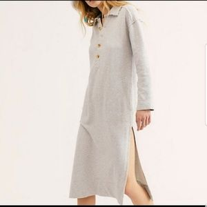 Free People Dresses - Free people On My Way Polo Pullover